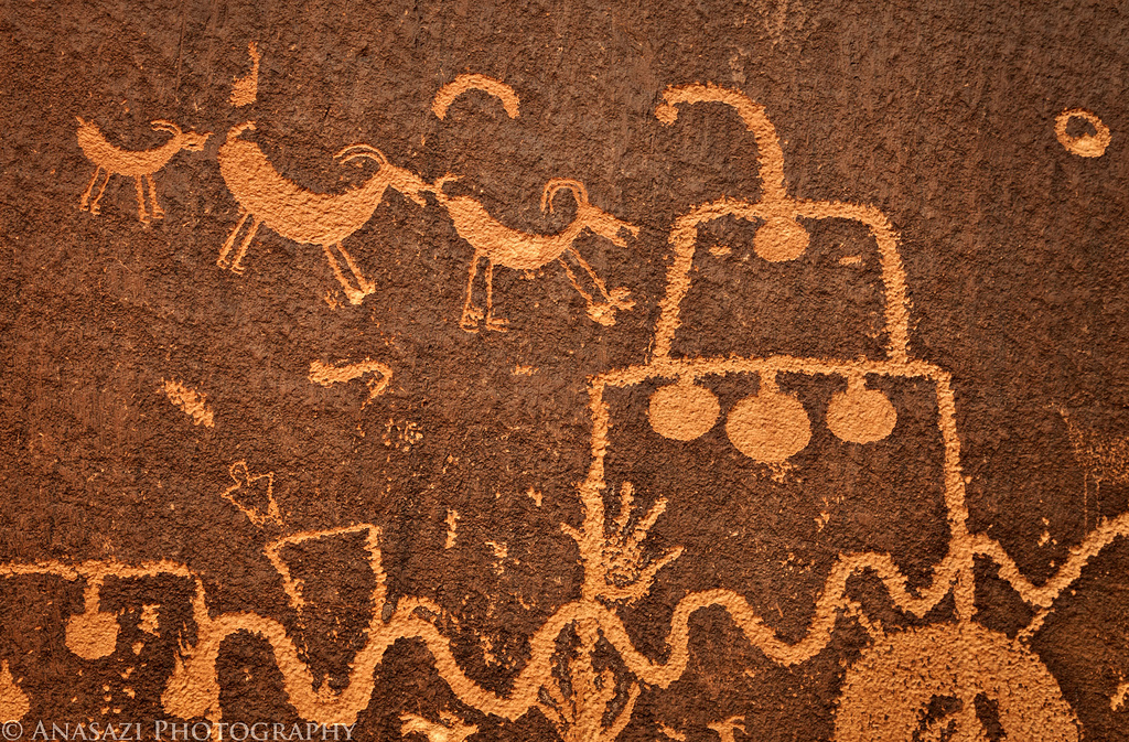 Indian Creek Corridor Rock Art