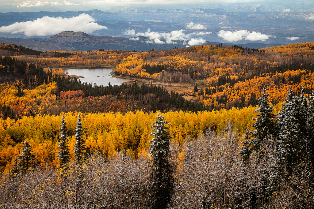 Fall and Winter on the Grand Mesa