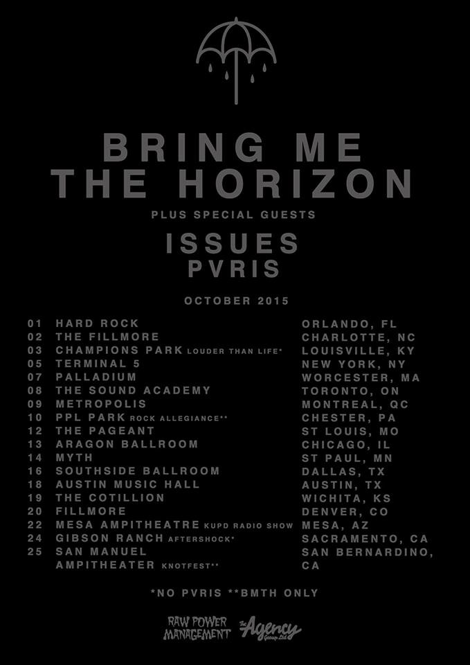 BMTH 2015