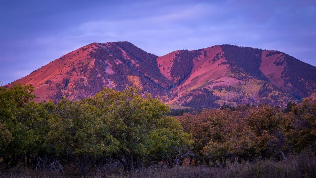 The Abajo Mountains