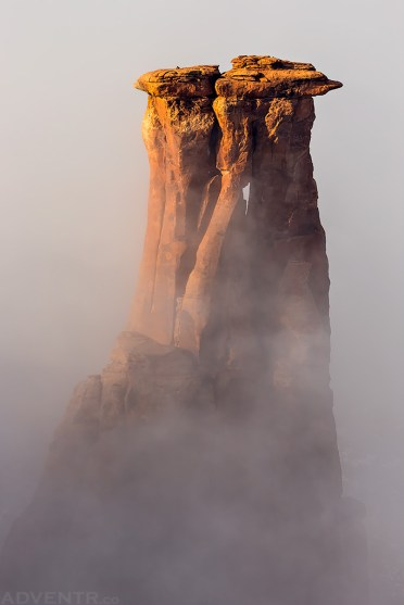 Kissing In the Fog