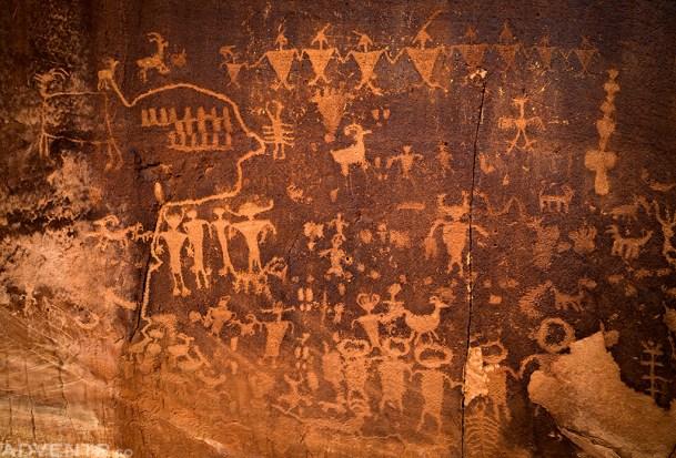Potash Road Petroglyphs