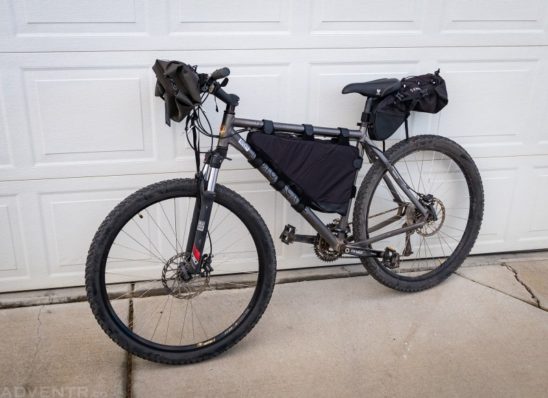 Initial Bikepacking Fitting