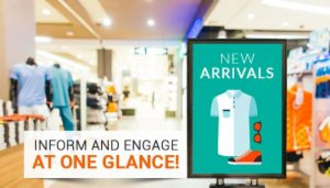 Digital Signage In Retail Stores