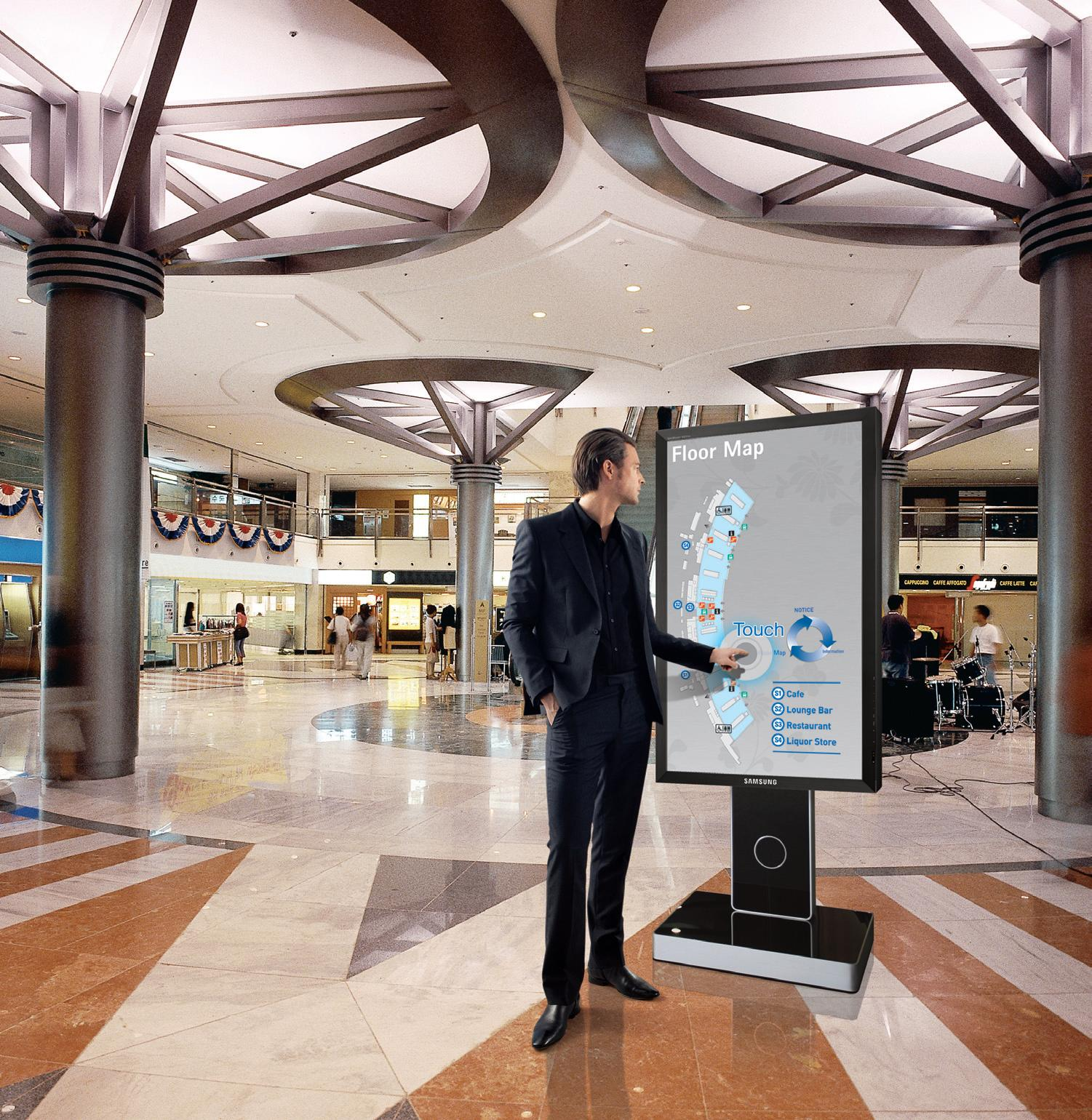 Touch Screen Digital Signage is More Advantageous Than Normal Digital Signage