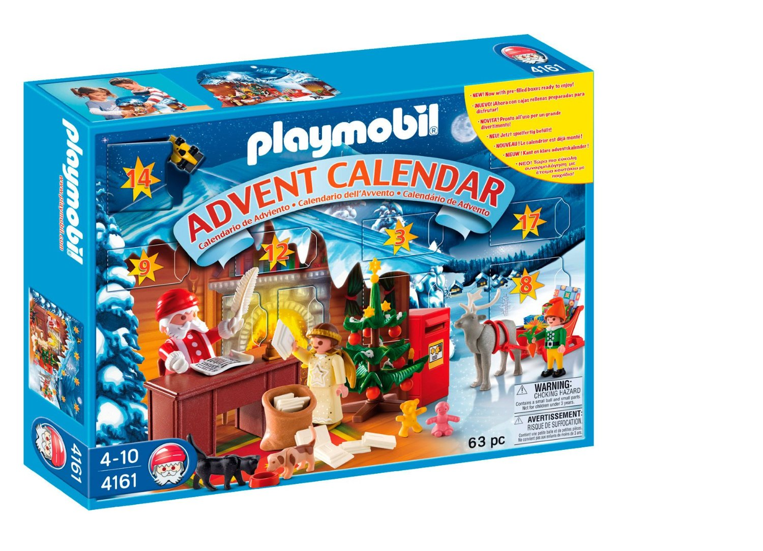 playmobil adventskalender weihnachts postamt. Black Bedroom Furniture Sets. Home Design Ideas