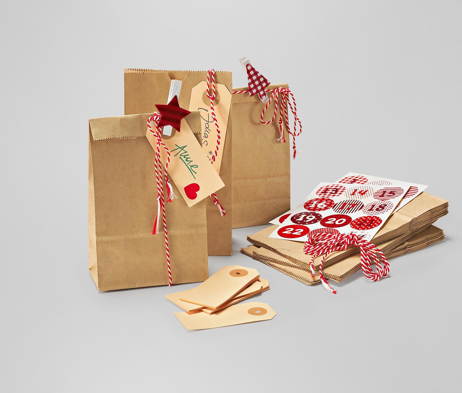 Bastelset adventskalender und weihnachten wir freuen for Bastelset weihnachten