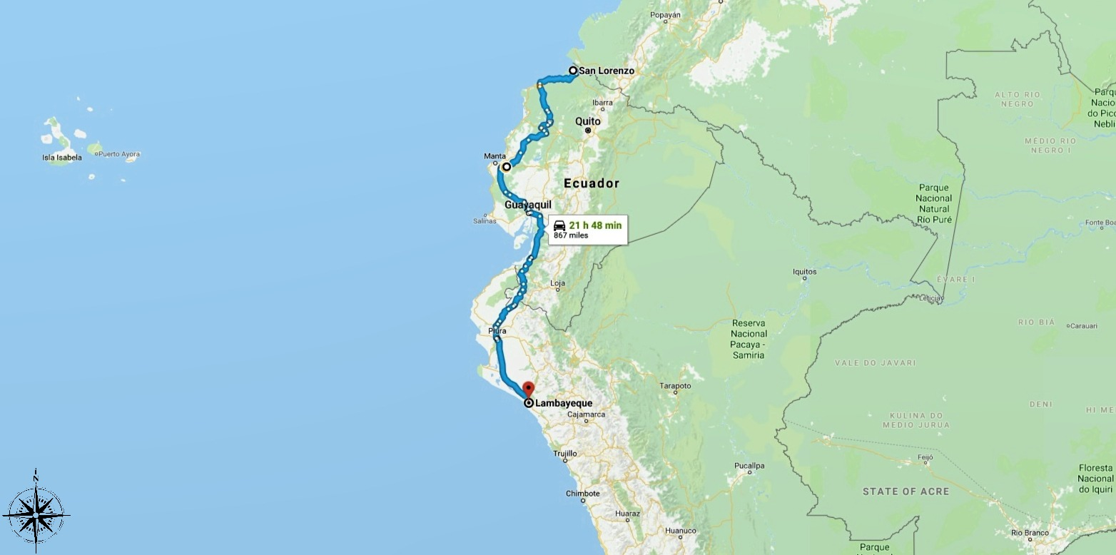 Day 92 Mile 7390 The Wrong Road in Ecuador and Epic Peru