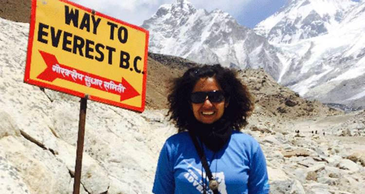 Adventure Pulse Blog Kanika's Expedition to Everest Base Camp