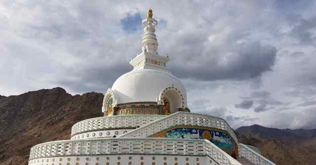 Adventure-pulse_Ladakh_shanti stupa