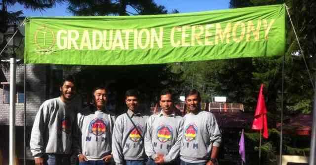 mountaineering courses and institutes_ NIM Advance Course Graduation