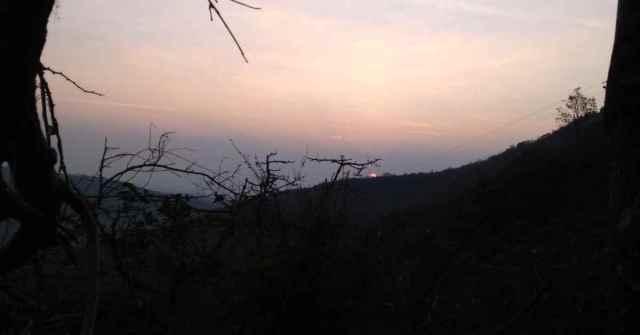 Katraj to Sinhagad_Adventure-Pulse_sunrise at Sinhagad