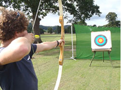 adventure activities, wales, archery