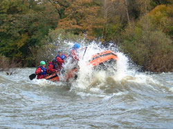 adventure activities, wales, white water rafting