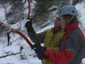 Video: Ice Climbing in Ouray, Colorado