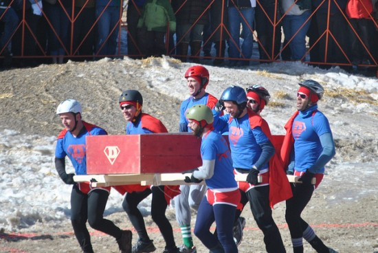 Frozen Dead Guy Days festival in Nederland features coffin race event