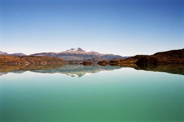 Trekking Patagonia: A Patagonian Lake