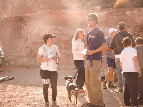 Arches National Park trail marathon