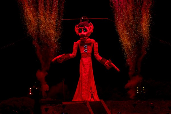 Santa fe new mexico Burning of Zozobra