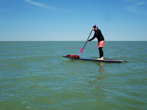 Stand up paddle boarding. Photo by Scott Arseneault