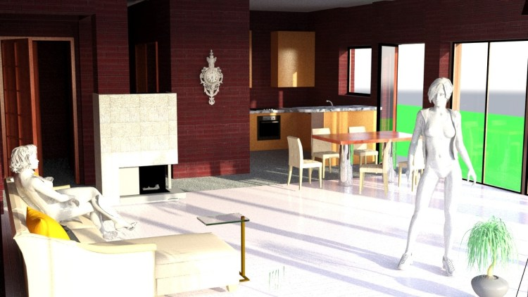 µHouse Design and Visualisation