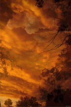 Storm oer Alice Springs