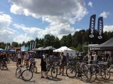 Cyklister var det gott om på Scandinavian Outdoor Games