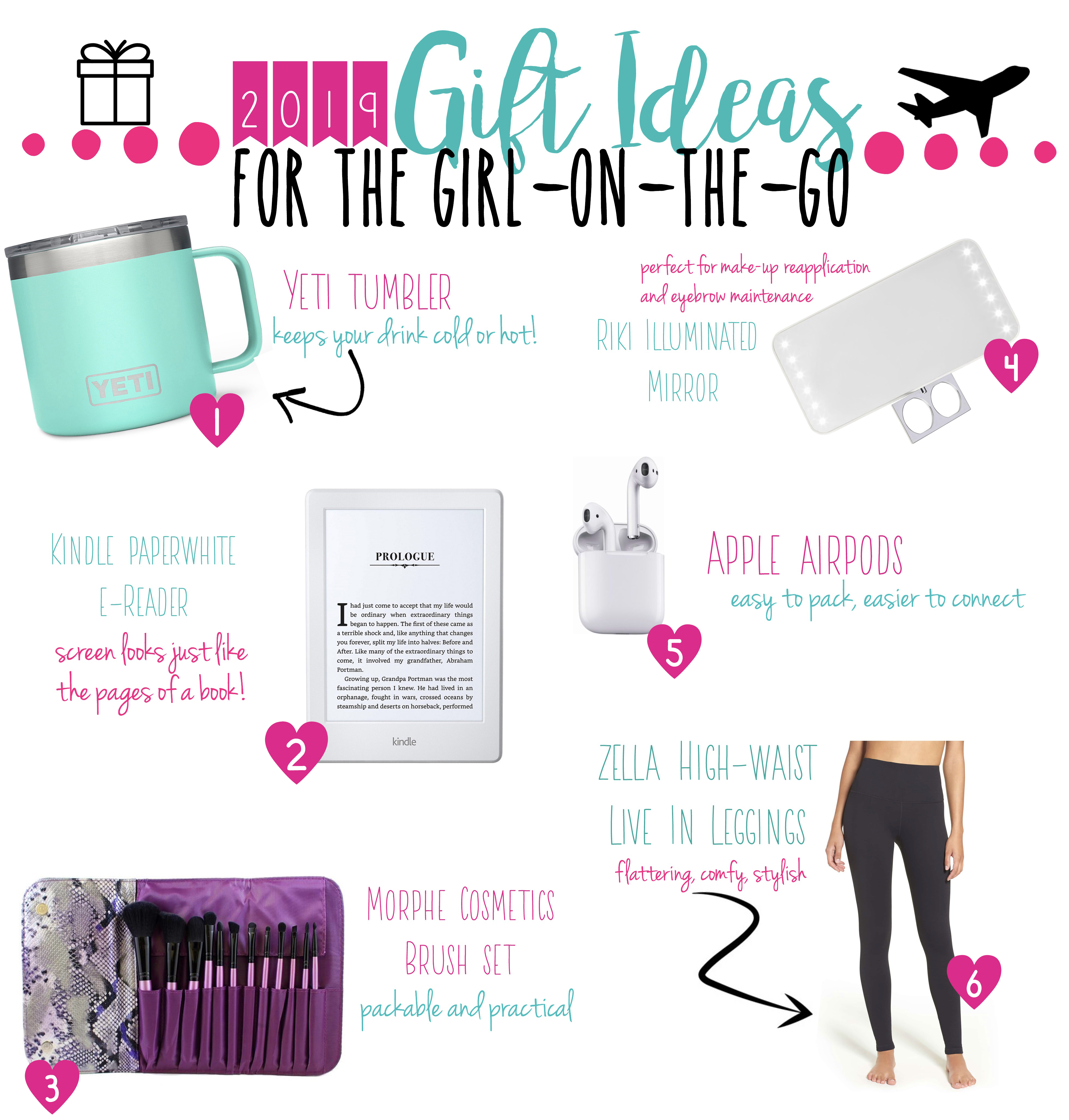 Christmas Gift Ideas For The Reader 2019 2019 Gift Ideas for the Girl on the Go   Adventure á la Mode