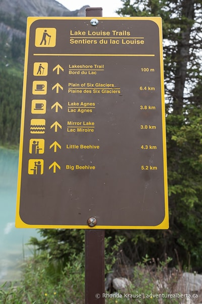 ~8 miles (round trip) · difficulty: Devil S Thumb Trail Via Lake Agnes And Big Beehive Lake Louise