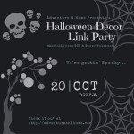 Gettin' Spooky: Halloween Decor Link Party Info
