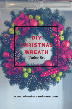 Christmas Wreath Tutorial Under $25!