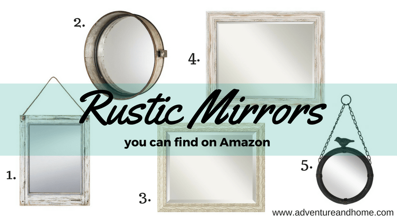 50 Rustic Finds from Amazon that will help you add charm to your bathroom. Whether you're doing a fully renovation or just want to infuse some farmhouse pieces into your design, pin to save these inspirations!