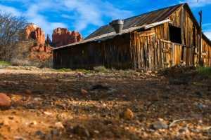 Okd Barn in Sedona, Arizona located at Cathedral Rock