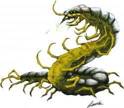 Giant Centipede smaller