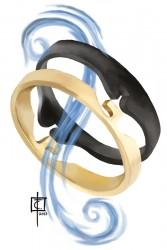 Celurian-Chain Link Rings