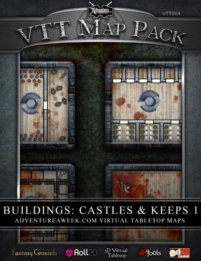 Mini-Dungeon Tome: Map Pack -