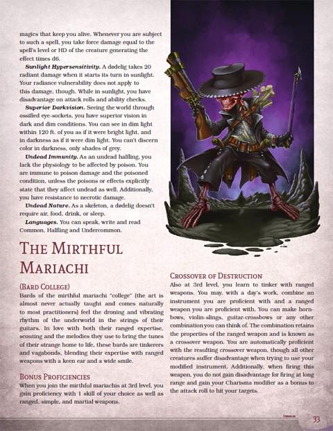 Underworld Races & Classes (5E Hardcover/PDF)