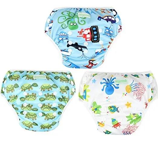 Wegreeco One Size Reusable Swim Diaper