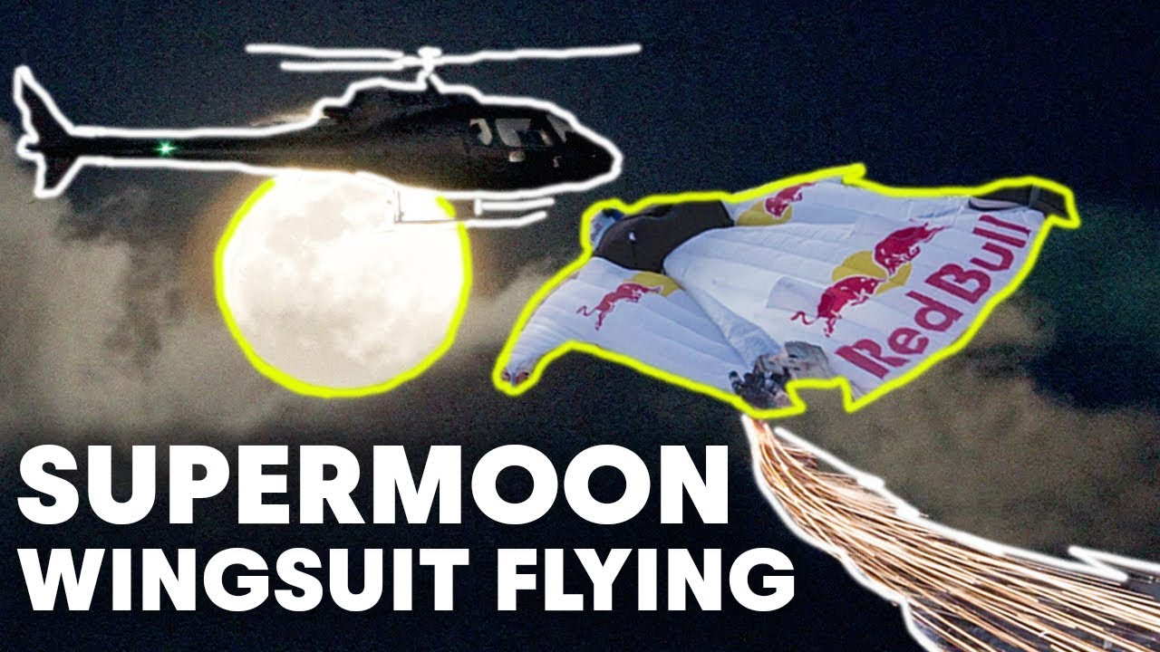 Video: Wingsuit Flying Over Los Angles During the Super Moon — The Adventure Blog