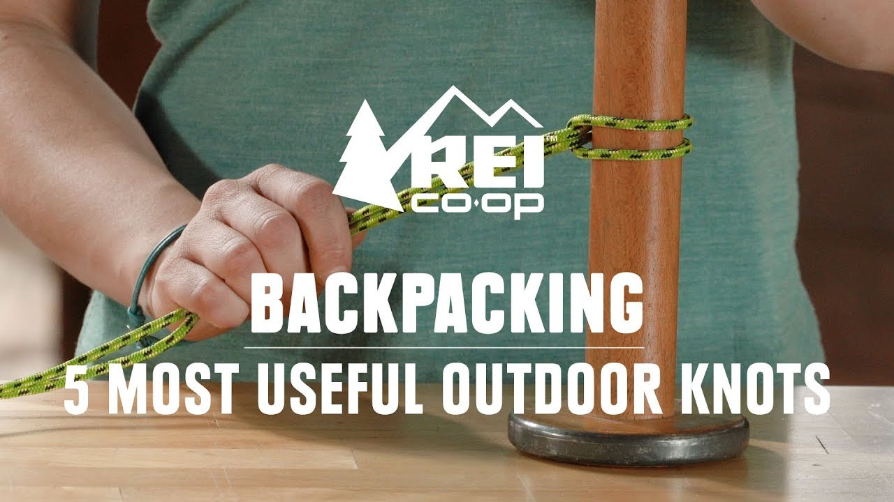 Video: 5 Useful Knots for Use in the Outdoors