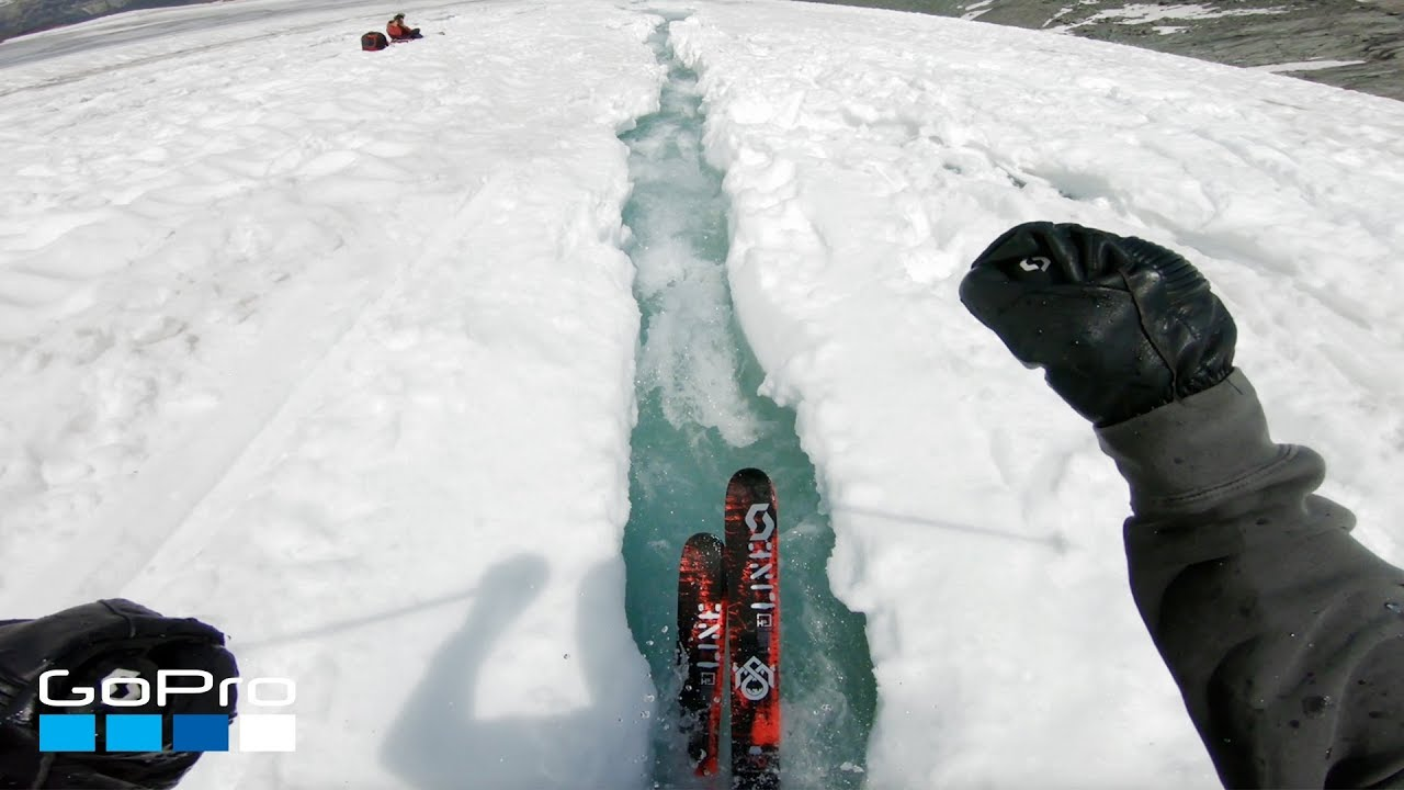 Video: Water Skiing on a Melting Glacier