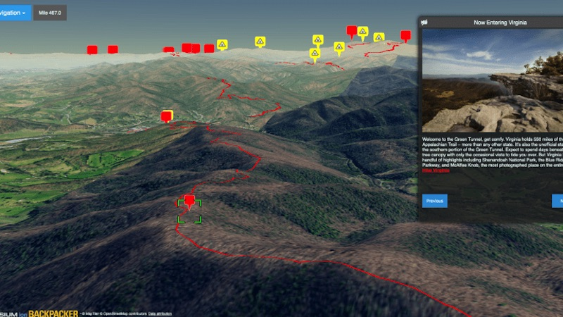 Backpacker Now Lets You Explore the Appalachian Trail in 3D — The Adventure Blog