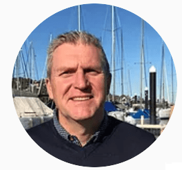 David Carpenter, Co-owner of The Adventure Boat Company based in The Spit, Mosman.