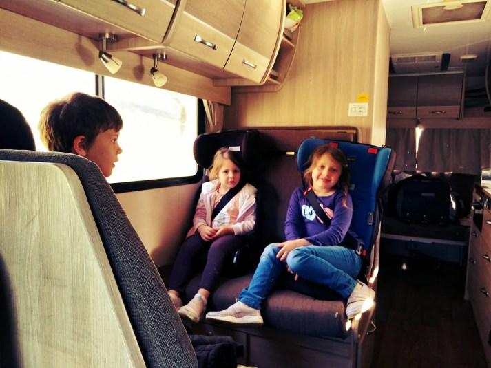 Motorhome with kids