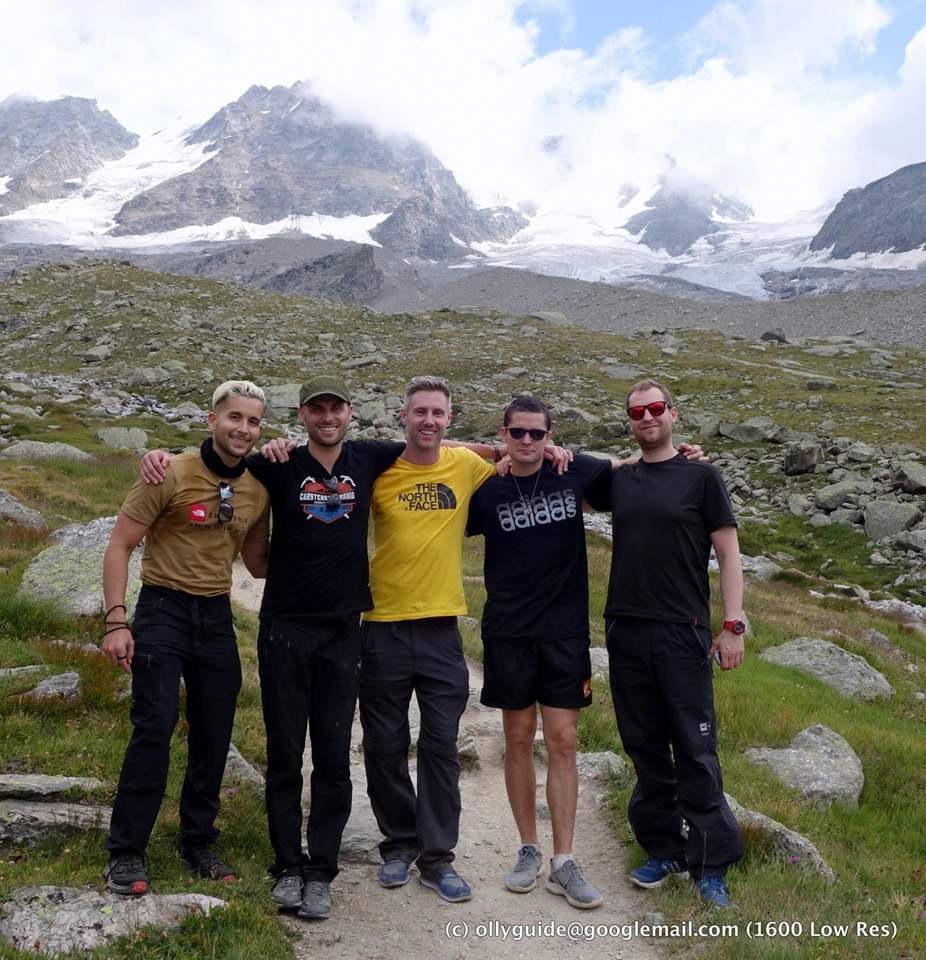 Climb Mont Blanc climbers