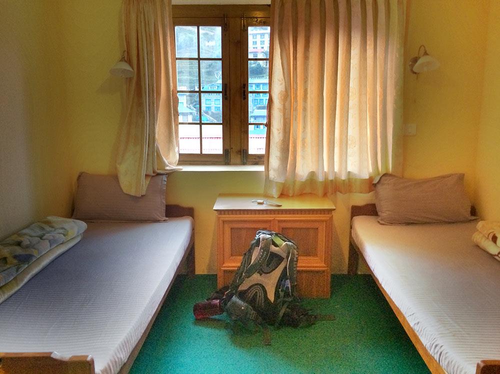 Namche Bazaar Teahouse Rooms