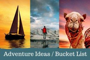 Adventure Cravings Bucket List Ideas