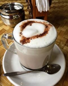 Hot Chocolate in Namche Bazaar