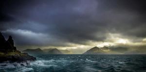 Faroe Islands Stormy Seas