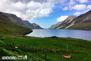 Krókaskákid View on the Faroe Islands